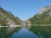 Albánsko,jazero Komani a okolie