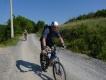Splav Nery a bicyklovačka na Gerniku