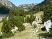 Albánsko, dolina Theth