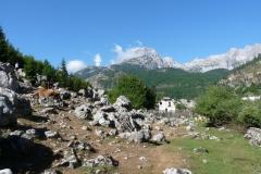 Albánsko,dolina Valbona