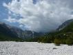 Albánsko, dolina Valbona