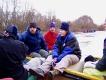Jarný splav Moravy a Dunaja