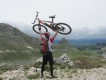 Monte Negro na bicykli,jar 2013